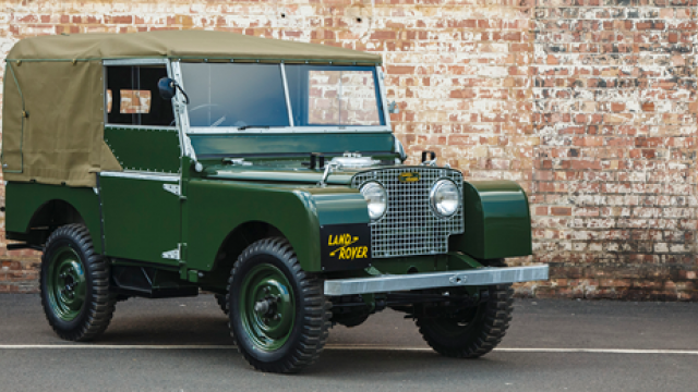 A spotter's guide to The Land Rover