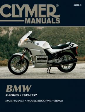 BMW K-Series Motorcycle (1985-1997) Service Repair Manual