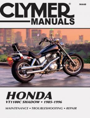 Honda VT1100C Shadow Motorcycle (1985-1996) Service Repair Manual