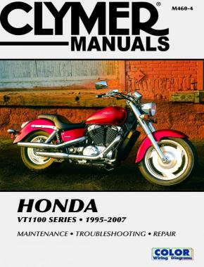 Honda VT1100 Shadow Series Motorcycle (1995-2007) Service Repair Manual Online Manual