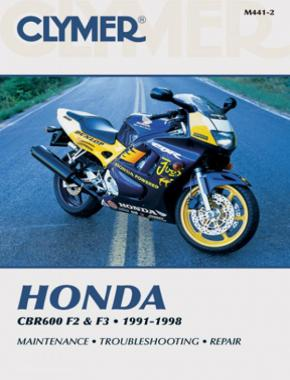 Honda CBR600 F2 & F3 Motorcycle (1991-1998) Service Repair Manual