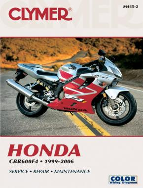 Honda CBR600F4 Motorcycle (1999-2006) Service Repair Manual Online Manual