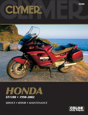 Honda ST1100/Pan European Motorcycle (1990-2002) Service Repair Manual
