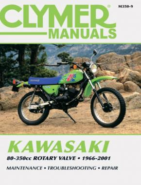 Kawasaki 80-350cc Rotary Valve Motorcycle (1966-2001) Service Repair Manual
