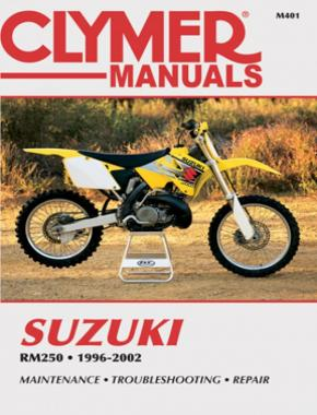 Suzuki RM250 Motorcycle (1996-2002) Service Repair Manual