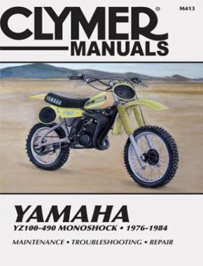 Yamaha YZ100-490 Monoshock Motorcycle (1976-1984) Service Repair Manual