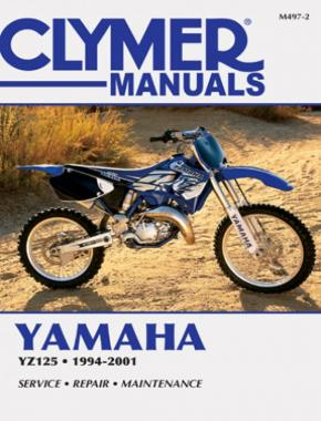 Yamaha YZ125 Motorcycle (1994-2001) Service Repair Manual