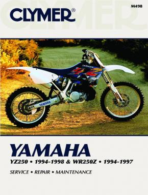 Yamaha YZ250 (1994-1998) & WR250Z (1994-1997) Motorcycle Service Repair Manual Online Manual