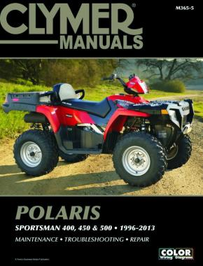 Polaris 400, 450 & 500 Sportsman ATV (1996-2013) Service Repair Manual