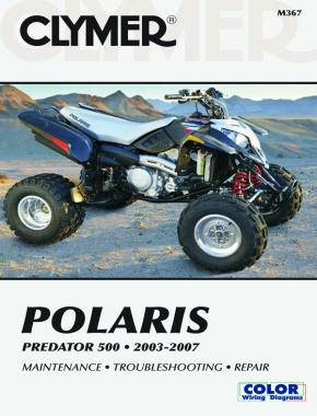 Polaris Predator ATV (2003-2007) Service Repair Manual Online Manual
