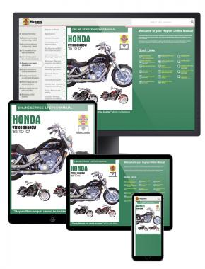 Honda VT1100 Shadow (85-07) Haynes Online Manual