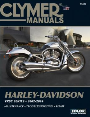 Harley-Davidson VRSC Screamin' Eagle (2002-2014) Service Repair Manual Online Manual