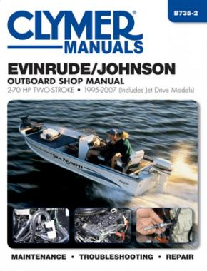 Evinrude/Johnson 2-70 HP 2-Stroke Outboards Includes Jet Drive Models (1995-2003) Service Repair Manual Online Manual