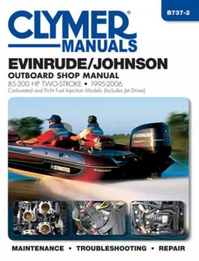 Evinrude/Johnson 85-300 HP 2-Stroke Outboards Carbureted & Ficht Fuel Injection Models (1995 2006)  Service Repair Manual Online Manual