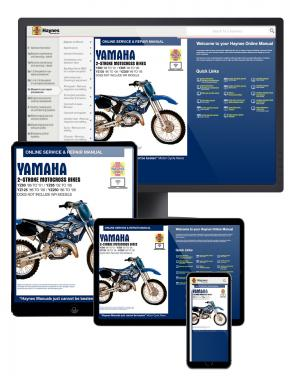 Yamaha 2-Stroke YZ80, YZ85, YZ125 and YZ250 Motorcross Bikes (86-06) Haynes Online Manual