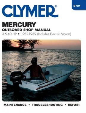 Mercury 3.5-40 HP Outboards Includes Electric Motors (1972-1989) Service Repair Manual Online Manual