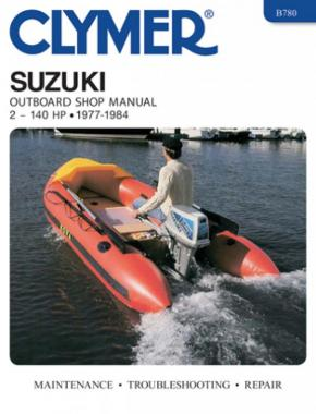 Suzuki 2-140 HP Outboards (1977-1984) Service Repair Manual