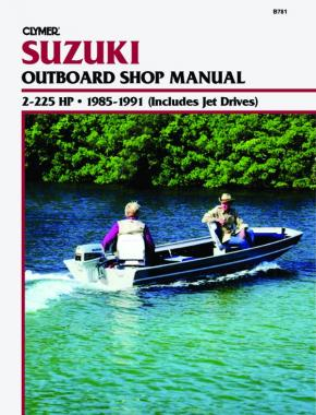 Suzuki 2-225 HP Outboards Includes Jet Drives (1985-1991) Service Repair Manual Online Manual