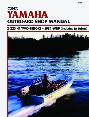 Yamaha 2-225 HP 2-Stroke Outboards & Jet Drives (1984-1989) Service Repair Manual Online Manual