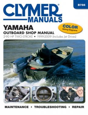 Yamaha 2-90 HP 2-Stroke Outboard & Jet Drives (1999-2009) Service Repair Manual