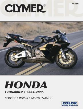 Honda CBR600RR Motorcycle (2003-2006) Service Repair Manual Online Manual