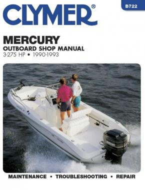 Mercury Mariner 3-275 HP Outboard Engine (1990-1993) Service Repair Manual Online Manual