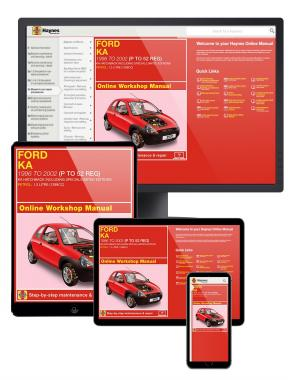 Ford Ka Petrol Haynes Manual Online (96 - 02) P-52