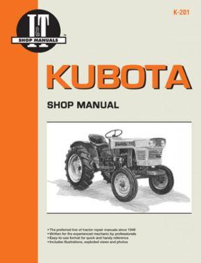 Kubota Model L175-L355 & B5100 & B7100 Tractor Service Repair Manual