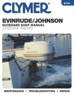 Evinrude Johnson Outboard Marine Engine (1956-1972) Service Repair Manual Online Manual