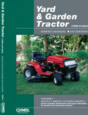 Proseries Yard & Garden Tractor Service Manual Vol. 3 (1991 and Later)