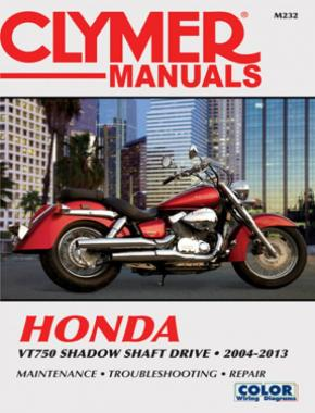 Honda VT750 Shadow Shaft Drive Motorcycle (2004-2013) Service Repair Manual