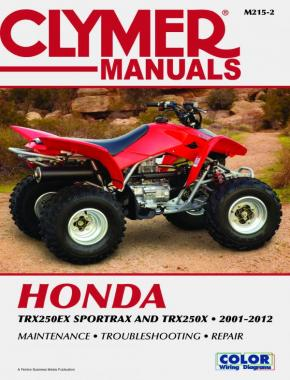 Honda TRX250 Sportrax Series ATV (2001-2012) Service Repair Manual