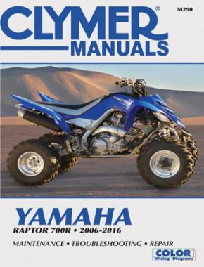 Yamaha Raptor 700R (2006-2016) Service Repair Manual