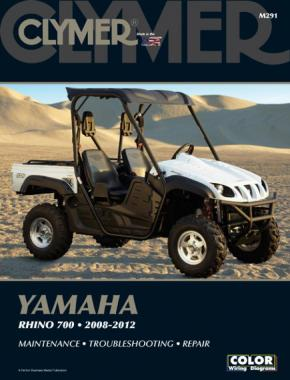 Yamaha Rhino 700 Side By Side ATV UTV (2008-2012) Service Repair Manual