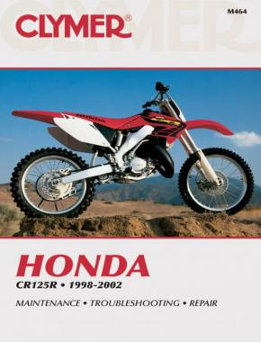 Honda CR125R Motorcycle (1998-2002) Service Repair Manual