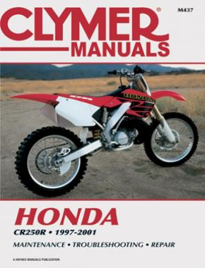 Honda CR250R Motorcycle (1997-2001) Service Repair Manual