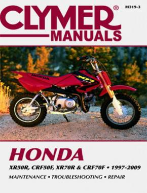 Honda XR/CRF 70 & XR/CRF70 Series Motorcycle (1997-2009) Service Repair Manual
