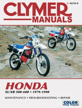 Honda XL/XR 500-600 Motorcycle (1979-1990) Service Repair Manual