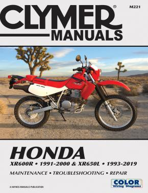 Honda XR600R (91-00) XR650L (93-19) Service and Repair Manual