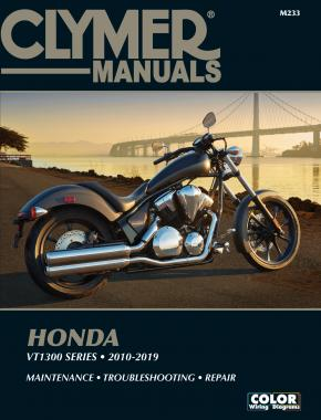 Honda VT1300 Series, 2010-2019 Clymer Repair Manual