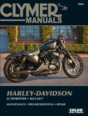 Harley-Davidson XL Sportster (12-17) Clymer Repair Manual