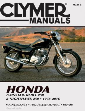 Honda Twinstar & Nighthawk 250 Motorcycle (1978-2016) Service Repair Manual