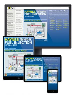 Fuel Injection 1978-1985 Haynes Online Techbook (USA)