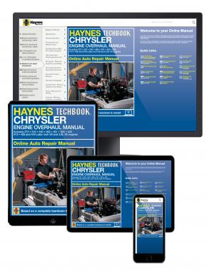 Chrysler Engine Overhaul Haynes Online Techbook (USA)