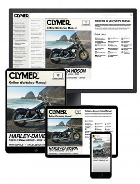 Harley-Davidson FXD/FLD Dyna Series (12-17) Clymer Online Repair Manual
