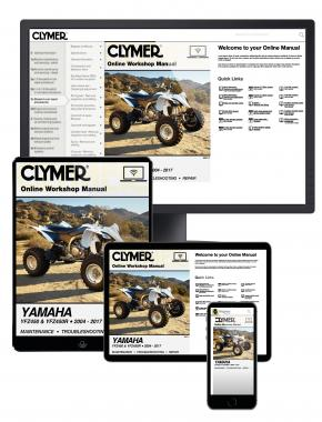 Yamaha YFZ Series ATV (2004-2017) Service Repair Manual Online Manual