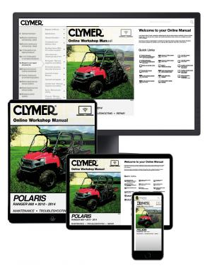 Polaris Ranger 800 Side By Side UTV (10-14) Clymer Online Repair Manual