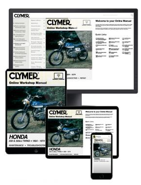 Honda 250 & 350 CC Twins Motorcycle (1964-1974) Clymer Online Manual
