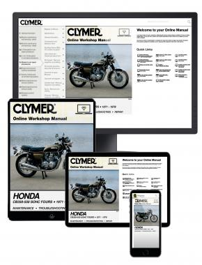 Honda CB350-550CC Sonic Fours Motorcycle, 1971-1978 Haynes Online Manual