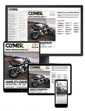 Harley-Davidson FXD Evolution Motorcycle (1991-1998) Clymer Online Manual
